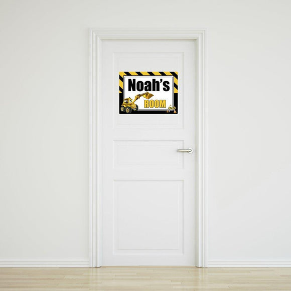 Little Digger Door Sign - Large