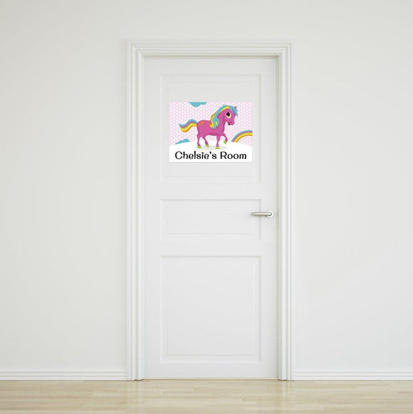 Pony Door Sign - Small