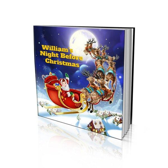 Night Before Christmas Large Soft Cover Story Book