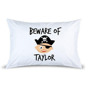 Pirate Pillow Case