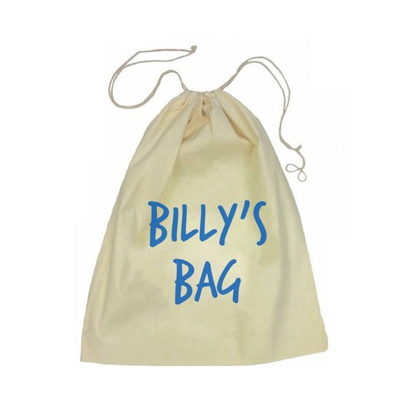 Name Drawstring Bag