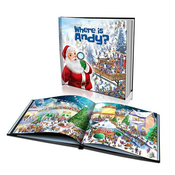 Where is Santa? Large Hard Cover Story Book