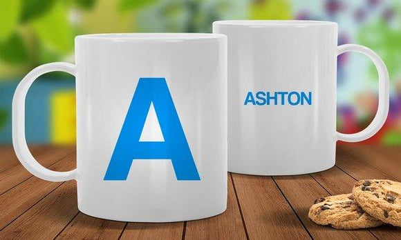 Name White Plastic Mug