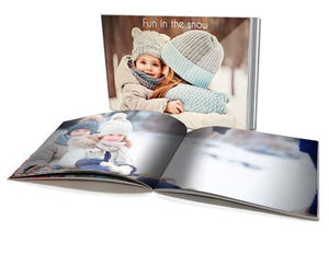 "4x5.3"" Personalised Soft Cover Photo Book (22 pages)"