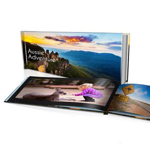 "12x6"" Personalised Hard Cover Book"