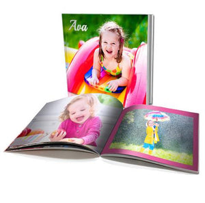 "6x6"" Personalised Soft Cover Photo Book (40 pages)"