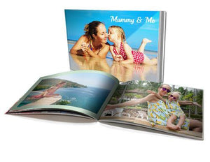 "8x11"" Personalised Soft Cover Book Landscape (40 pages)"