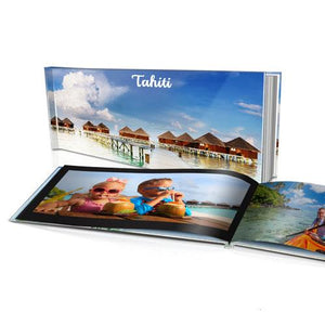 "16x8"" Personalised Hard Cover Book"