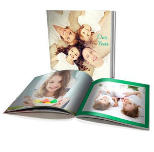 "8x8"" Personalised Soft Cover Photo Book (20 pages)"