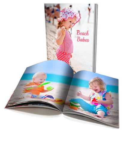 A4 Personalised Soft Cover Photo Book (40 pages)