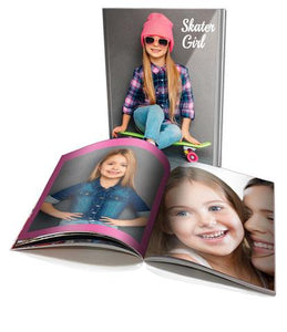 A4 Personalised Soft Cover Photo Book (60 pages)