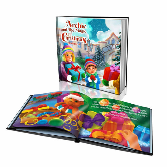 The Magic of Christmas Volume 2 Large Hard Cover Story Book