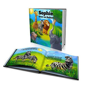 Hard Cover Story Book - The Safari