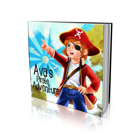 Pirate Adventure Large Soft Cover Story Book