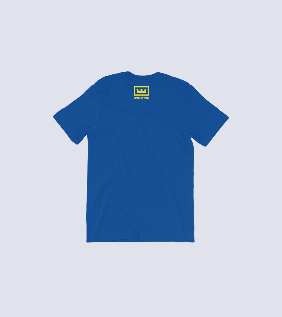 Puller t-shirt royal blue