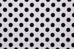 Load image into Gallery viewer, Arm, Leg Skins for Dexcom, Omnipod, Insulin Pump Site-White w/ black polka dots