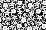 Arm, Leg Skins for Dexcom, Omnipod, Insulin Pump Site-Black W/White Flowers