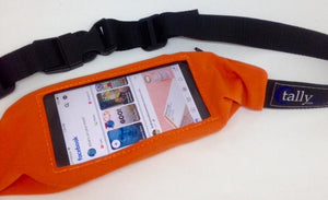 Smartphone, Insulin Pump Waist Belt, Pack, Pouch w/ window-Colors