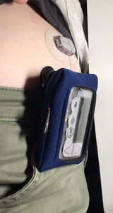Tandem, tslimx2, Medtronic, Insulin Pump Case, Pack, Pouch with window & Belt Clip
