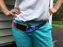 Load image into Gallery viewer, Smartphone, Dexcom Pouch, Insulin Pump Waist Pack w/window - Patterns