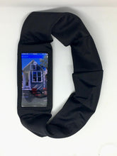 Load image into Gallery viewer, High Performance Smartphone Band, Dexcom Band, Insulin Pump Band w/Smartphone Window-Black & White