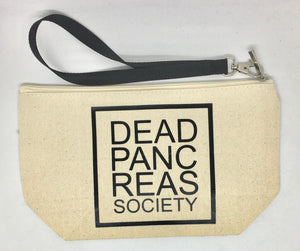 Diabetes Supply Bag, Case, Pack, Pouch, Makeup bag, Tote, Dead Pancreas Society