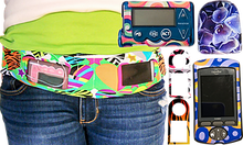 Load image into Gallery viewer, Insulin Pump Belt, Dexcom Belt, Smartphone Pouch, tallygear tummietote Belt-Green Camo