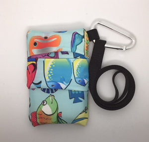 Dexcom G5, G6 Case, Pack, Pouch with window - Patterns