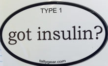 Load image into Gallery viewer, Type 1 Diabetes Decals, Stickers