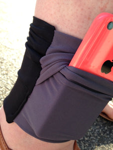 Arm/Leg Pocket for Dexcom/Omnipod/Insulin Pump/Smartphone w/optional window-Sky Blue