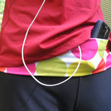 Load image into Gallery viewer, Insulin Pump Band, Dexcom Band, Omnipod Pouch, tallygear tummietote-2 Band-Jazzy Dots