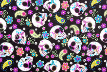 Load image into Gallery viewer, Arm, Leg Skins for Dexcom, Omnipod, Insulin Pump Site-Colorful Skulls