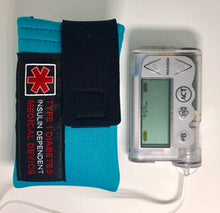Load image into Gallery viewer, Insulin Pump Case, Pack, Pouch with Medical Device ID