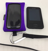Load image into Gallery viewer, Dexcom G5, G6 Case, Pack, Pouch with window and carabiner hook