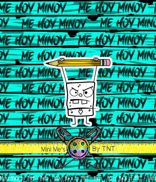 DOODLE BOB ME HOY MINOY PANEL - PERPETUAL PREORDER