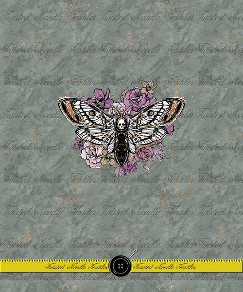 GHOULISH ELEGANCE DEATH'S HEAD MOTH PANEL - PERPETUAL PREORDER