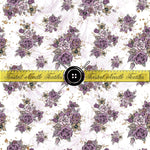 Ghoulish Elegance White Floral - PERPETUAL PREORDER