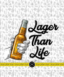 CHEERS LAGER THAN LIFE BLANKET PANEL - PERPETUAL PREORDER