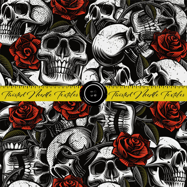 TATTOO SKULLS AND ROSES - PERPETUAL PREORDER