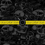 TATTOO BLACK OUT SKULLS, GUNS AND ROSES - PERPETUAL PREORDER