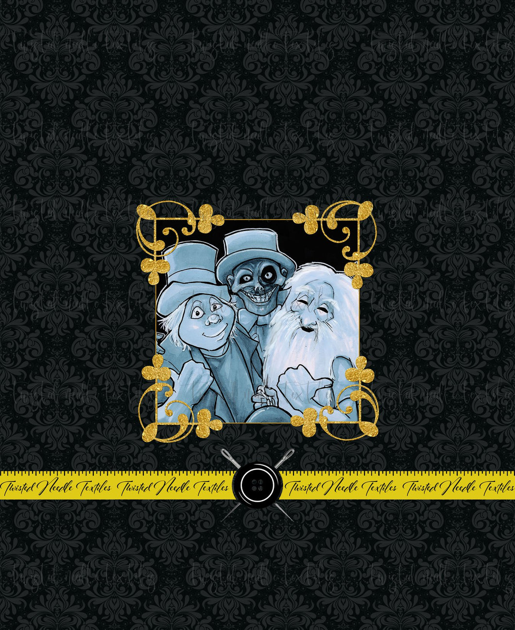 HAUNTED MANSION HITCHHIKER PANEL - TNT CUSTOM PRINTING PREORDER