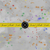 PRIDE STARS ON GRAY - PERPETUAL PREORDER