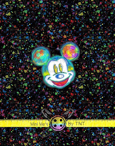 BEST PALS MICKEY ON BLACK PANEL - PERPETUAL PREORDER
