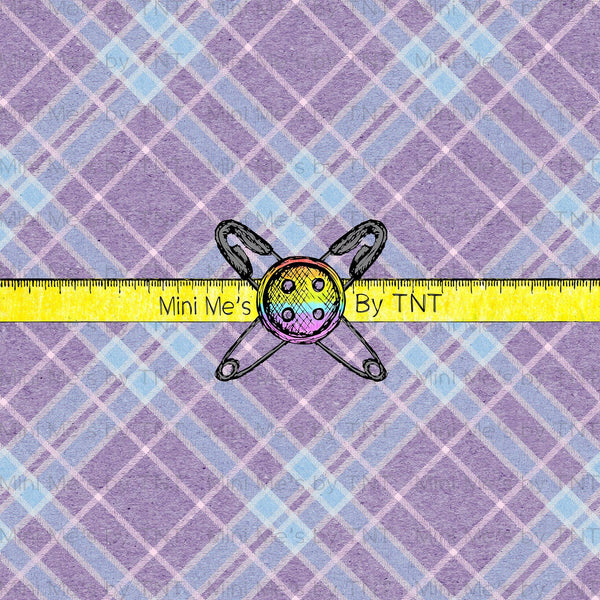 EASTER PURPLE PLAID - PERPETUAL PREORDER
