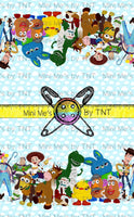 TOY STORY LARGE BORDER PRINT - PERPETUAL PREORDER