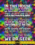 GALAXY WE DO GEEK BLANKET PANEL - PERPETUAL PREORDER