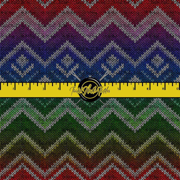 KNIT ME UP CHEVRON - PERPETUAL PREORDER
