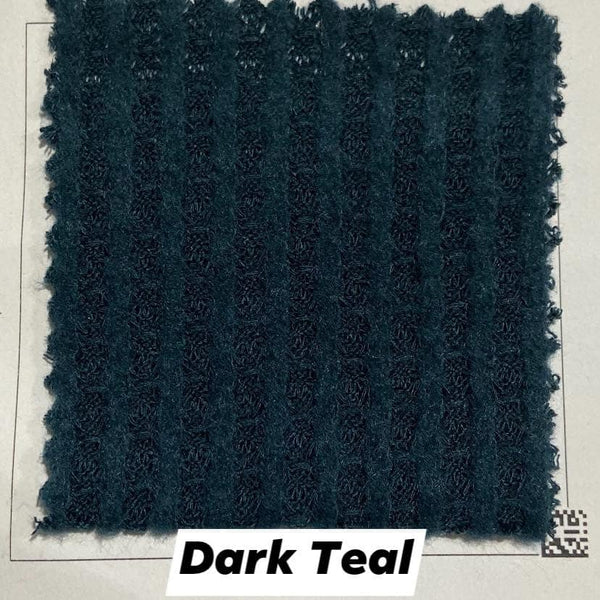 Dark Teal Brushed Waffle Knit - TNT OFF THE RACK