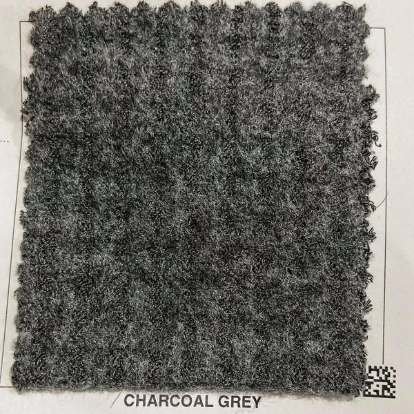 Charcoal Grey Brushed Waffle Knit - TNT OFF THE RACK