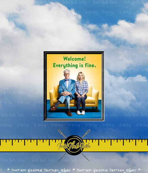 THE GOOD PLACE WELCOME PANEL - PERPETUAL PREORDER